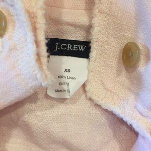 J. Crew Jackets & Coats - J Crew Linen Jacket